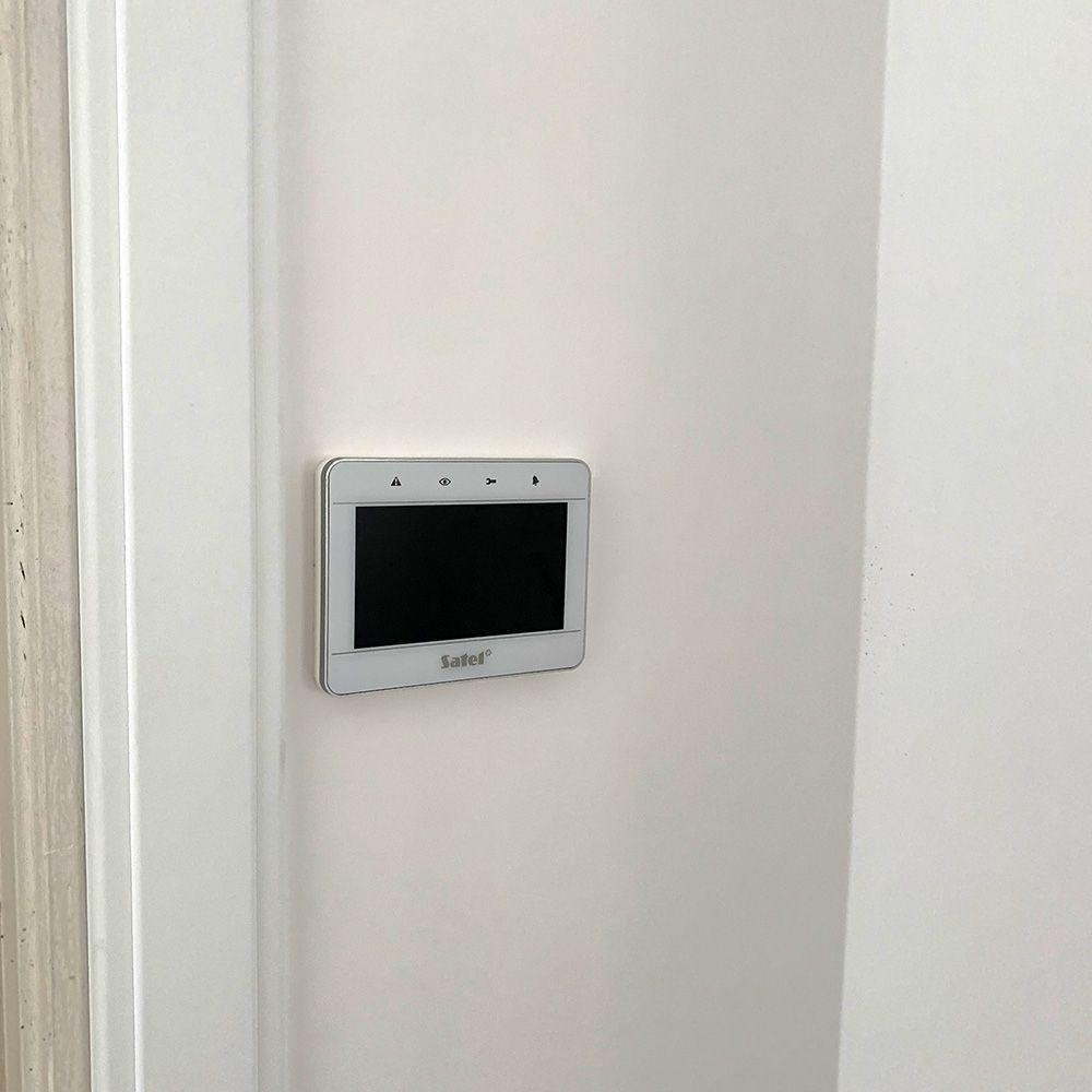 4.3 inch touchscreen bedienpaneel wit